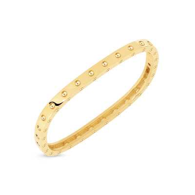 Roberto-Coin-Pois-Moi-18K-Yellow-Gold-1-Row-Square-Bangle-888522AYBA0M