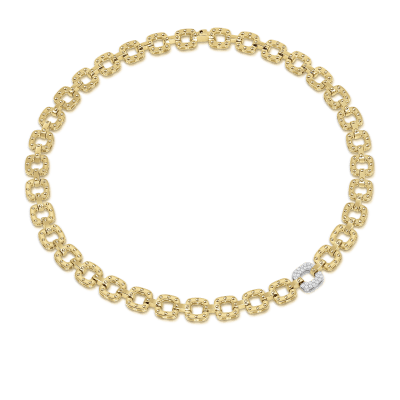 Necklace with 1 Diamond Link