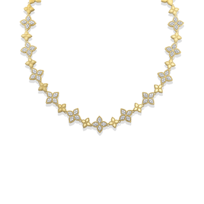 Alternating Diamond Necklace