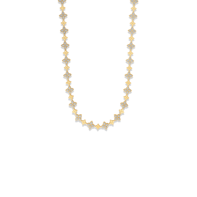 Link Chain with Diamonds