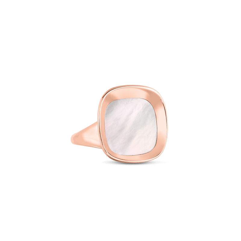 Roberto-Coin-18k-rose-gold-Small Ring with Mother of Pearl-8882210AX65Malt1