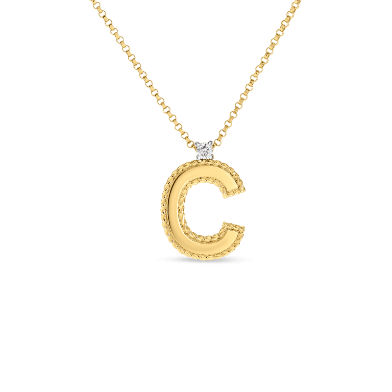 Roberto-Coin-18k-yellow-gold-Block-Letter-Pendant–C–7771372AYCHXC