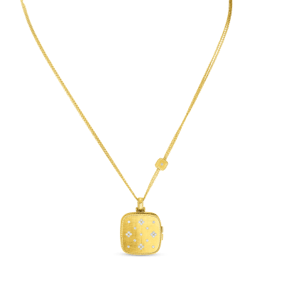 18KT GOLD LOCKET PENDANT