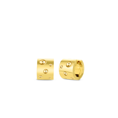 Product 18k Gold Pois Moi Luna Wide Huggy Earring