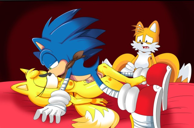 Dreamcastzx1 Fur Furry_tail Hedgehog Mammal Multiple_tails Nude Sonic_series Sonic_boom Sonic_the_hedgehog Tail Tails Video_games