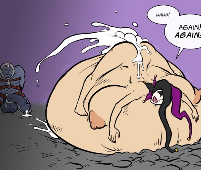 Breasts Cum Cum_filled Cum_inflation Excessive_cum Female Huge_belly Huge_cock Hyper_belly Inflation Legend_of_queen_opala