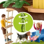 Schleich Farm World Adventure Tree House Inc 2 Figures 4 Animals And Accessories Tiere Dinosaurier