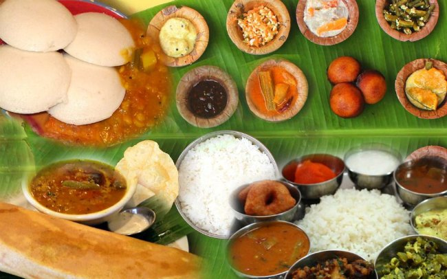 South Indian Wedding Feast And Banana Leaf?