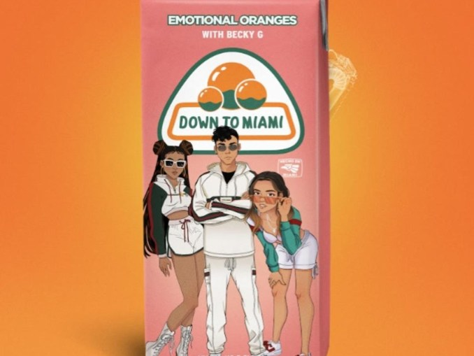 DOWNLOAD MP3: Emotional Oranges – Down To Miami ft. Becky G