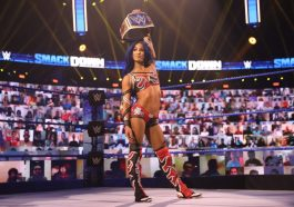Sasha Banks Compares Filming 'The Mandalorian' to Her 'First Time Ever Seeing a Wrestling Ring'