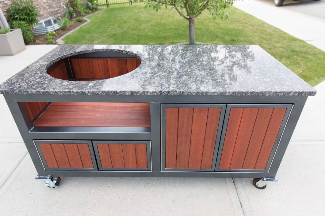Cool Big Green Egg Table Granite Wallseat Co Download Free Architecture Designs Rallybritishbridgeorg