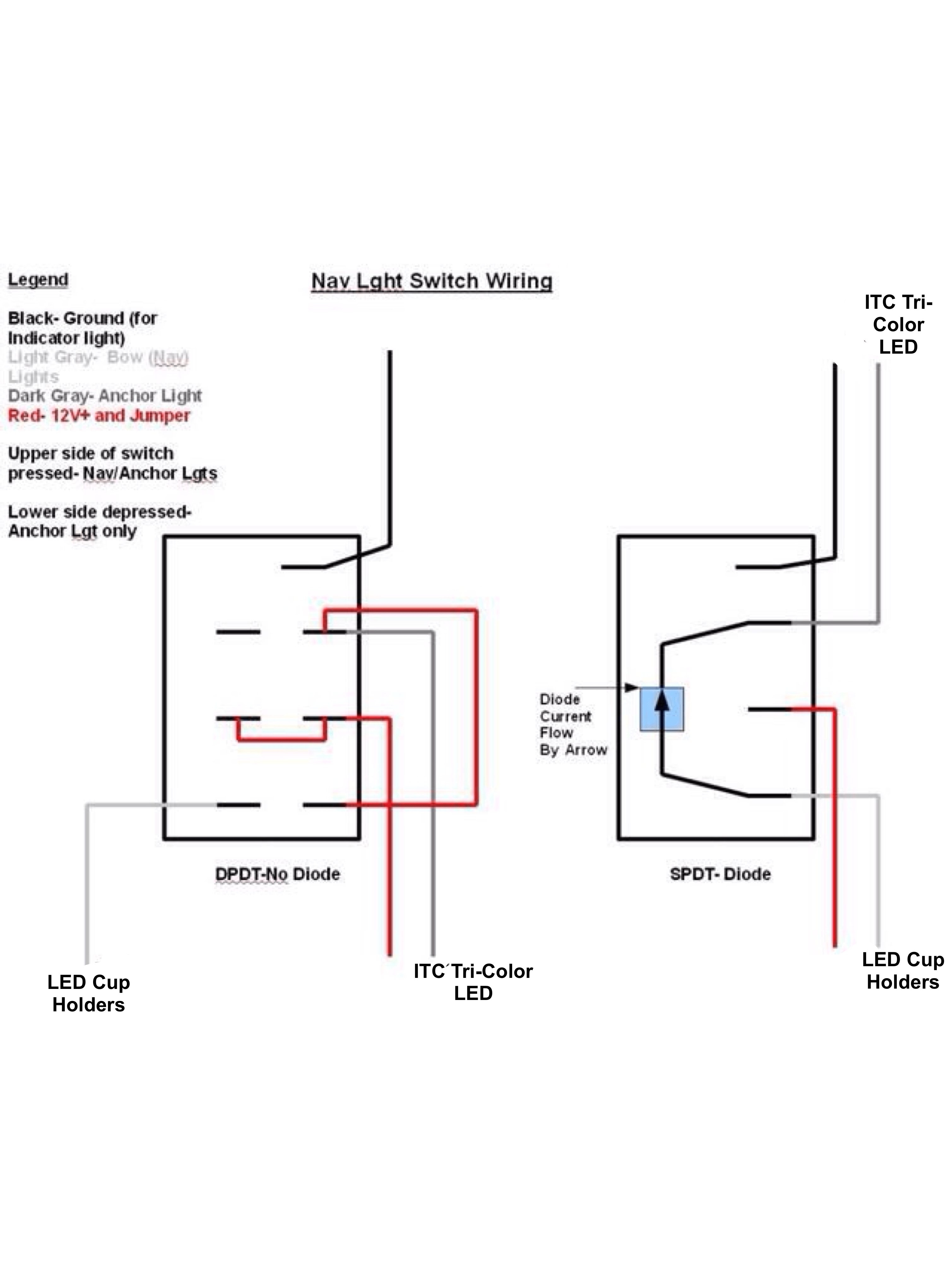 Dpdt Switch For Led Lighting