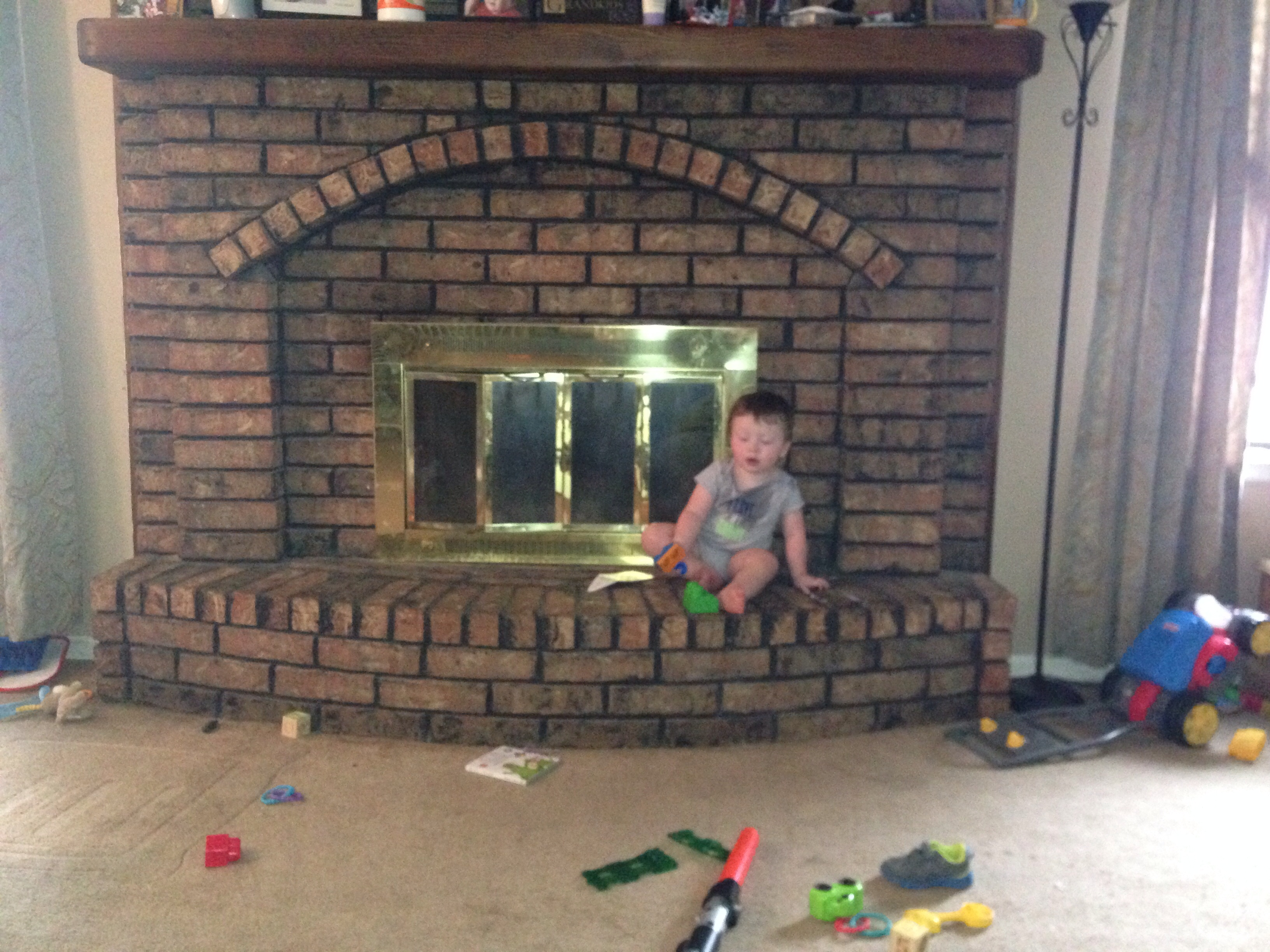 Fireplace Baby Proofing Help