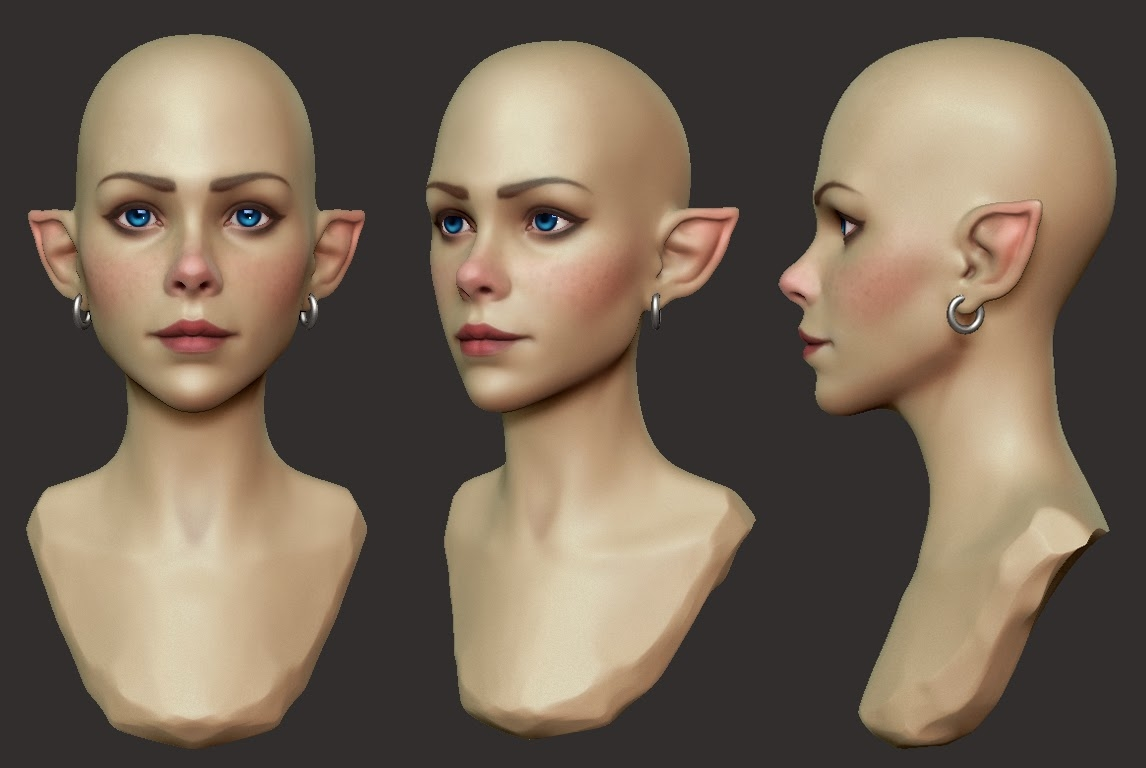 Female Face Critique Needed