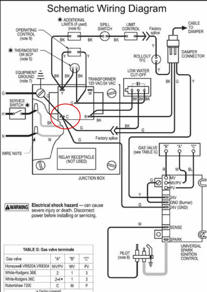 question about adding c wire for thermostat — heating help