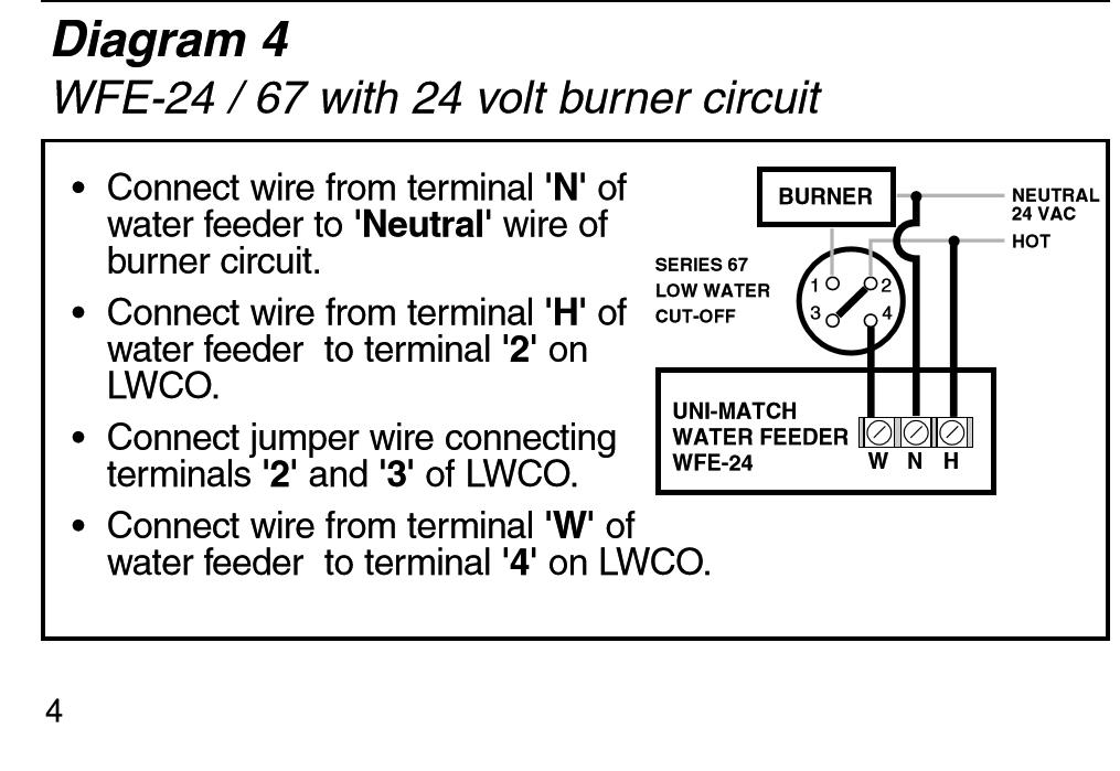67 LWCO Wiring Torubles (STEAM)