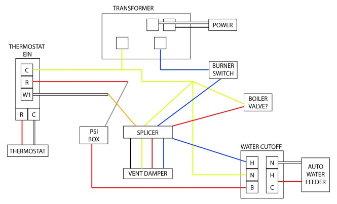 oil boiler wiring diagram wiring diagram oil burner relay switch wiring image about