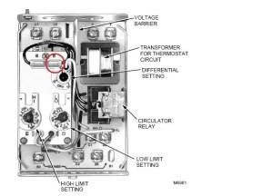 Honeywell L8124A — Heating Help: The Wall