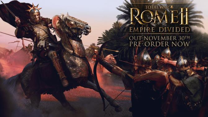 Anunciado Nuevo DLC de Rome 2 Total War Empire Divided