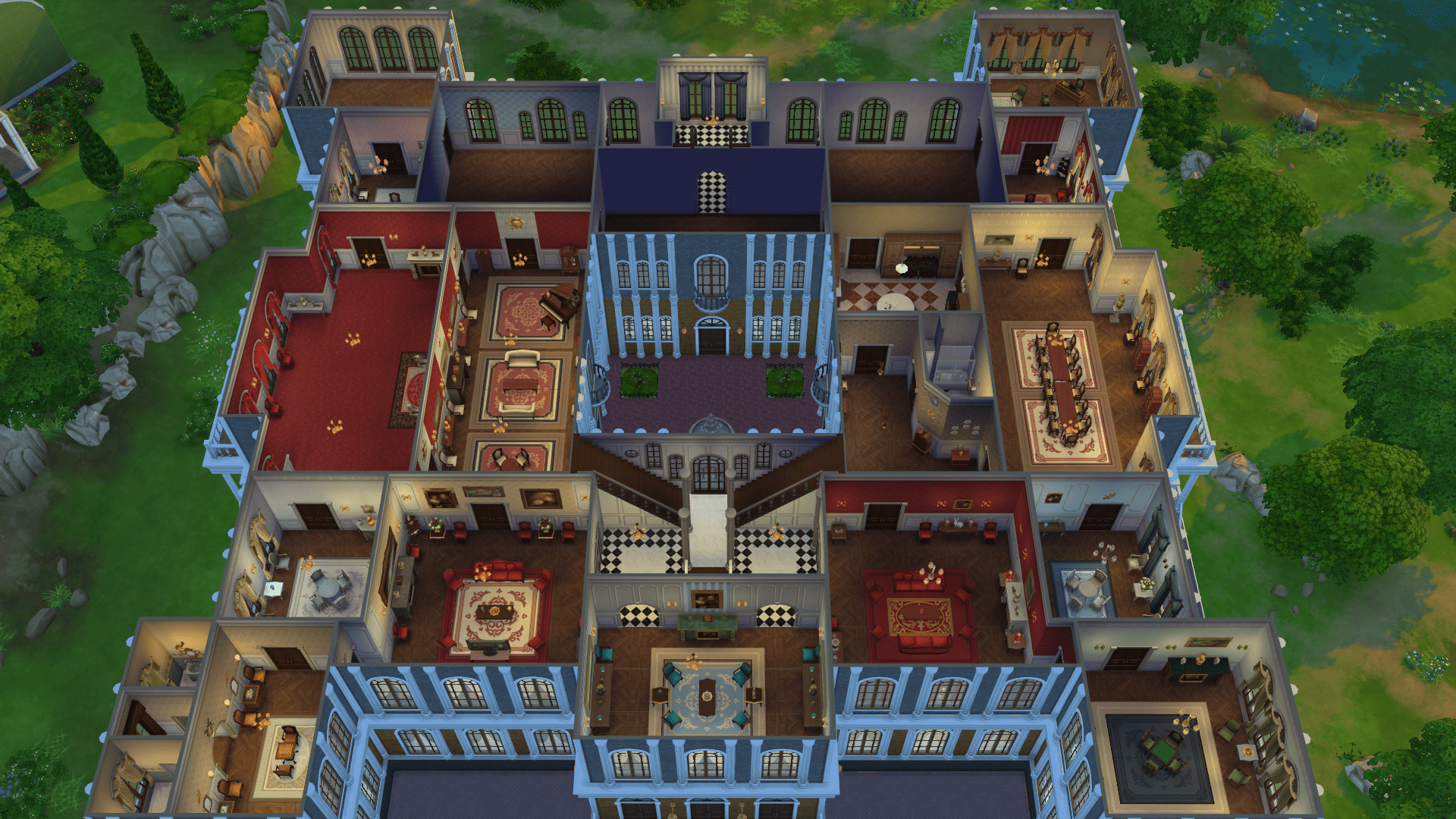 Simsburgo Palace Page 2 The Sims Forums
