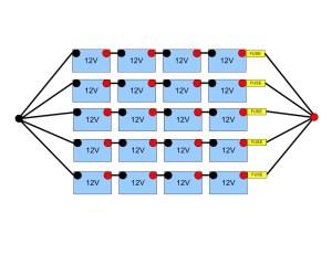 48 Volt battery bank wiring — northernarizonawindandsun
