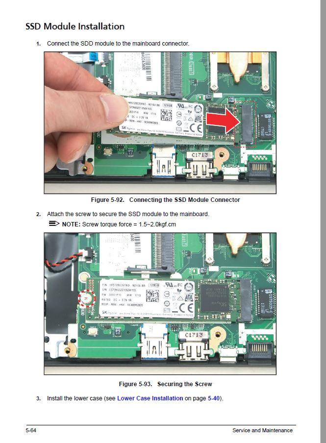Acer Aspire 5 A515 51 589e Kann Ssd Zusatzlich Zur Hdd Eingebaut Werden Acer Community