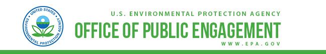 U.S. EPA Office of Public Engagement