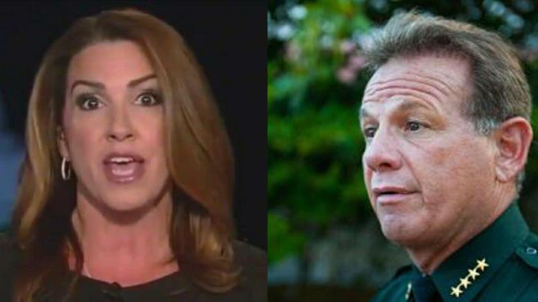 Sara A.Carter uncovers catalyst of Sheriff Scott Israel's department. Demands for his ouster now being delivered. Photo credit to Dagger News and CNBC.