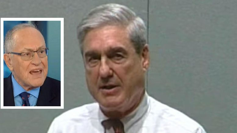 Life long liberal Harvard professor, has a message for Mueller. Photo credit to US4Trump screen captures