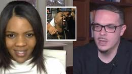 Kanye West breaks the internet when he tweets support of conservative Candace Owen and Shaun King gets in on it for the attention. Photo credit compilation to US4Trump with YouTube screen captures.