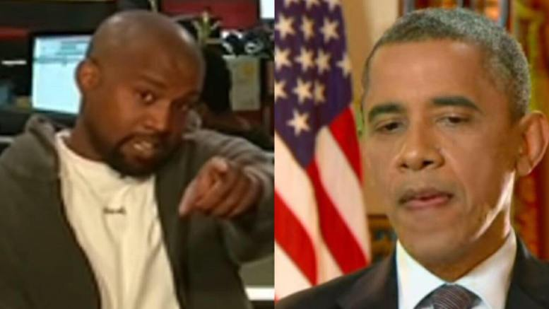 In an TMZ interview, Kanye West doubles down on Trump support and disses Obama. Image credit to US4Trump with TMZ Screen Capture and CNN Screen Capture.
