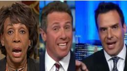 Sabato announces his run for Congress in California. And denounces Maxine Waters on rhetoric. Image credit to US4Trump screen capture compilation.