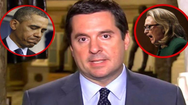 Nunes drops a bombshell on the coverup with Maria Bartiromo. Photo credit to US4Trump compilation with Imgflip (insert), YesImRight (insert) & Video screen shot.