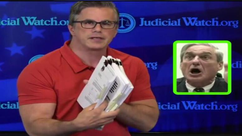 Judicial Watch President, Tom Fitton shows us the spy warrants and asked for every American's help. Photo credit to US4Trump enhanced compilation with screen grabs.