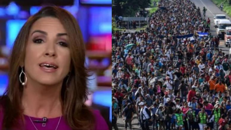 Sara A. Carter tells what is going on in caravan. Photo credit to US4Trump compilation with video screen grabs.
