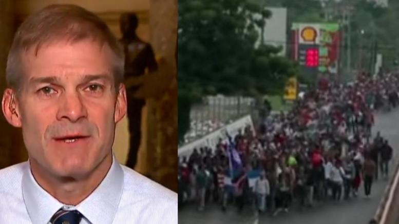 Jim Jordan speaks out on the border. Photo credit to US4Trump compilation with screen shots.