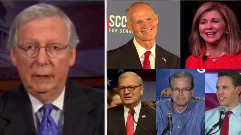 McConnell tells Dana Perino why the GOP picked up Senate seats in the 2018 midterms. Photo credit to US4Trump with screen shots.