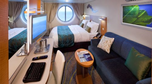 Oceanview Stateroom Cat. I - Room #3254 - Deck 3 MidshipOasis of the Seas - Royal Caribbean Cruise Line
