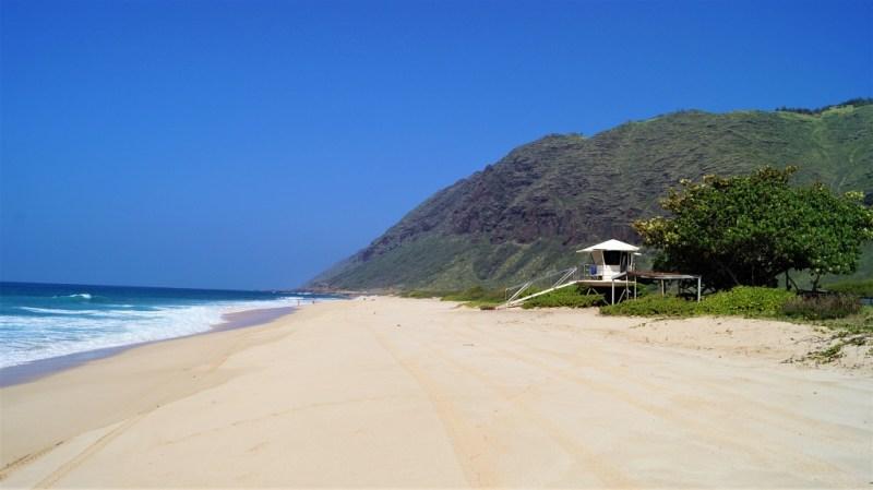 Einsame Strände auf Hawaii