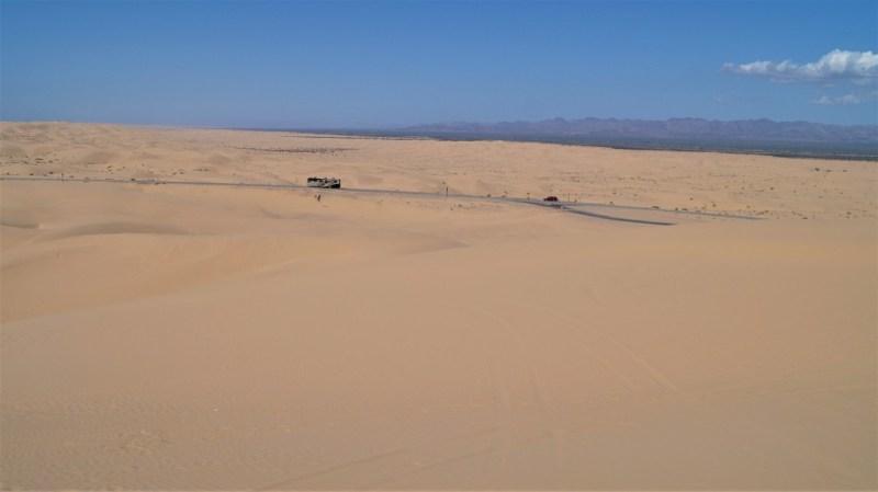 Imperial Dunes sind eine Sandwüste in Kalifornien