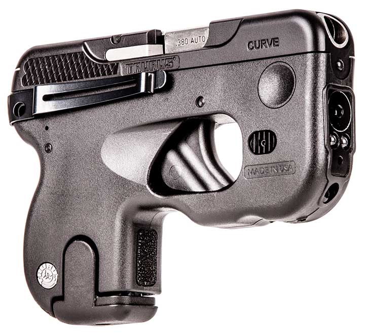 Taurus curve 180, a concealed carry handgun that does away with the holster. Buy your gun now.