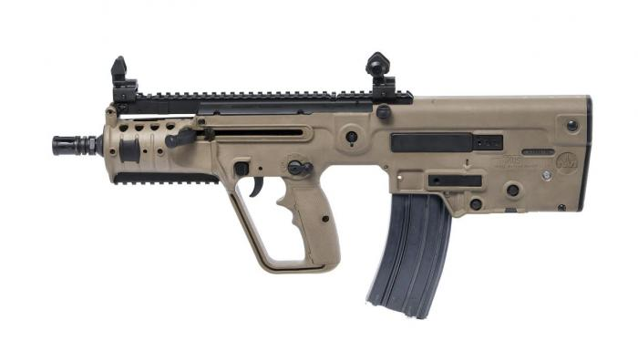 Tavor SAR Flat Top 300 Blackout for sale. A great bullpup rifle that can match the AR-15s of this world in a more compact frame.