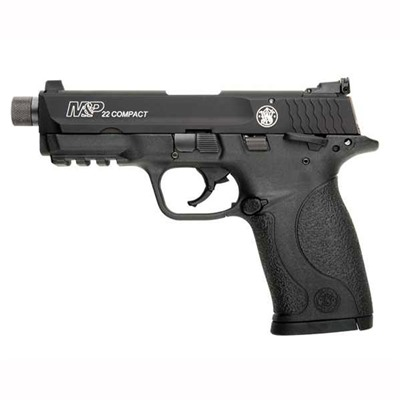 Smith & Wesson M&P22 Compact - a great training pistol and it comes threaded for a suppressor.