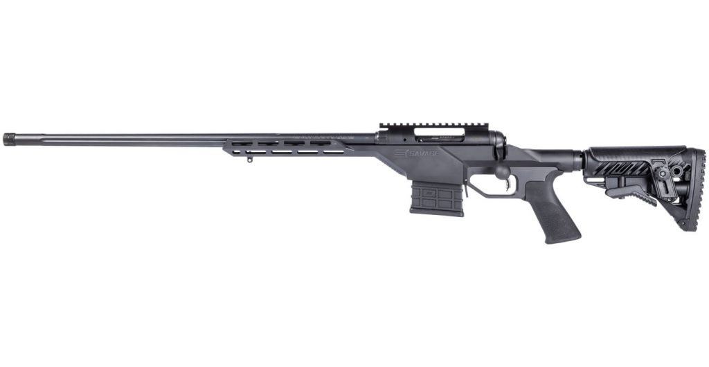 Savage Arms 10BA, a stripped down AR and a long barrel