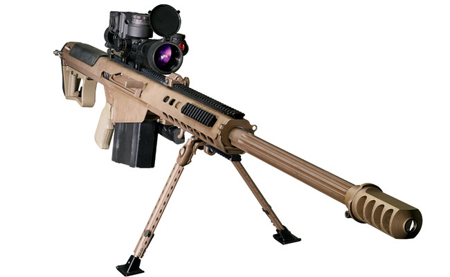 Barrett M107 50 BMW Gun rifle