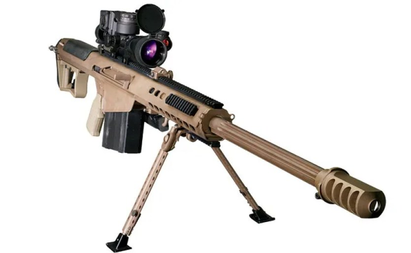 Barrett M107 50 BMG Gun rifle
