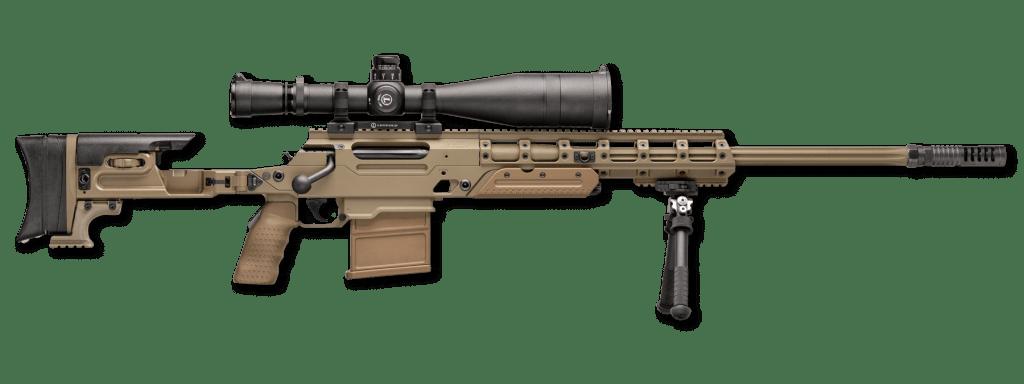 FN Ballista FDE sniper rifle