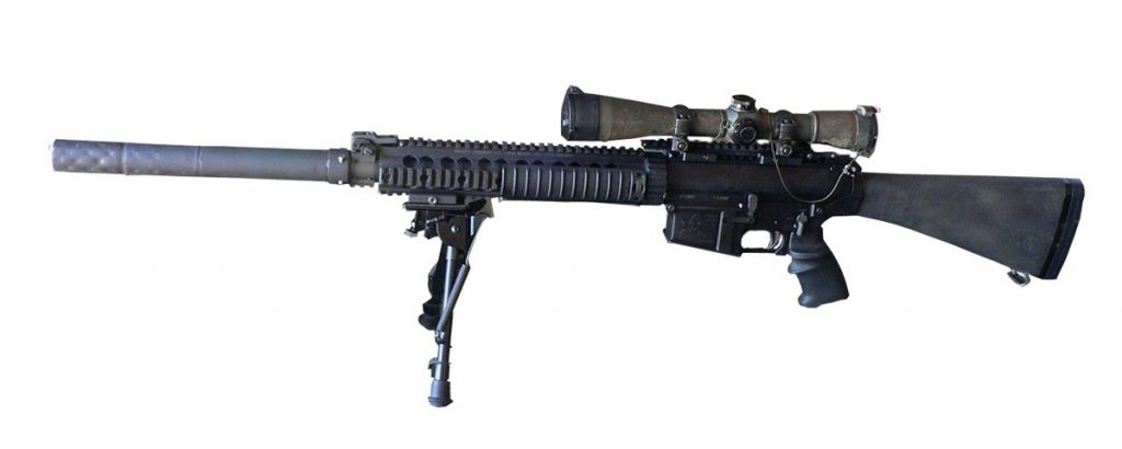 Knights Armament SR-25 Sniper rifle