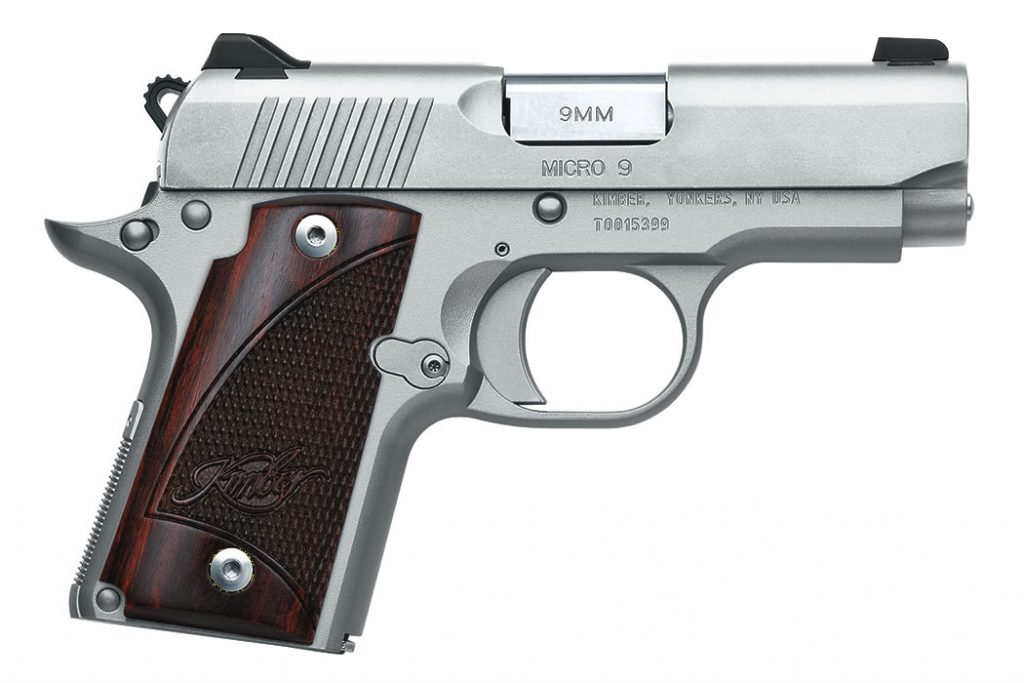 Kimber Micro 9 1911 handgun for sale