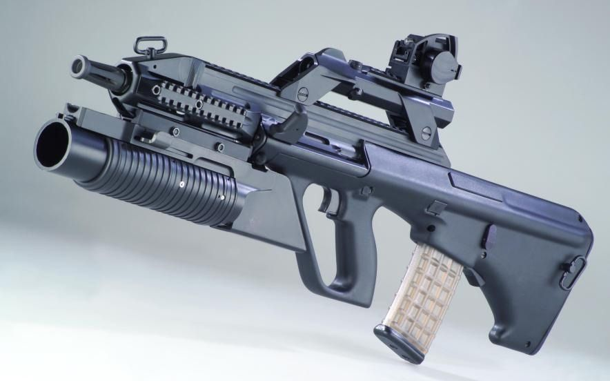 Steyr AUG Machine Gun